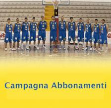 Campagna abbonamenti Monteroni Basket