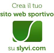 Crea il tuo sito sportivo su slyvi.com